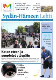 Sydän-Hämeen Lehti 19.08.2015