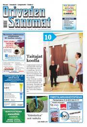 Oriveden Sanomat 19.08.2015