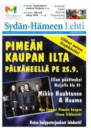 Sydän-Hämeen Lehti 23.09.2015