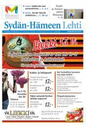Sydän-Hämeen Lehti 30.09.2015