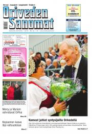 Oriveden Sanomat 30.09.2015