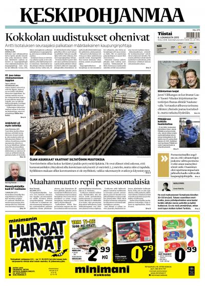 KESKIPOHJANMAA 06.10.2015 Lehtiluukku.fi