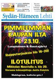 Sydän-Hämeen Lehti 21.10.2015
