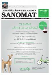 Lempäälän-Vesilahden Sanomat 28.10.2015