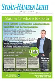 Sydän-Hämeen Lehti 05.04.2011