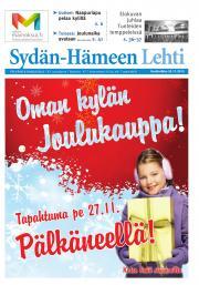 Sydän-Hämeen Lehti 25.11.2015