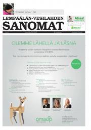 Lempäälän-Vesilahden Sanomat 25.11.2015