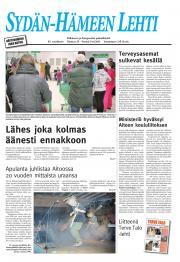 Sydän-Hämeen Lehti 15.04.2011