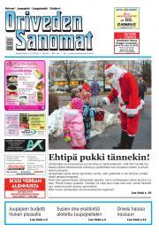 Oriveden Sanomat 02.12.2015