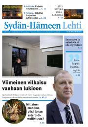 Sydän-Hämeen Lehti 30.12.2015