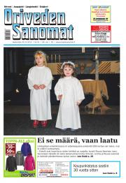 Oriveden Sanomat 30.12.2015