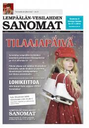 Lempäälän-Vesilahden Sanomat 13.01.2016