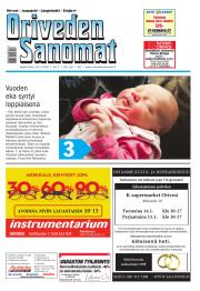 Oriveden Sanomat 13.01.2016